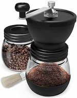 Manual Coffee Mill Grinder with Ceramic Burrs